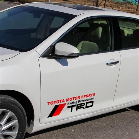 toyota trd stickers buy wholesale toyota sport logo from china toyota