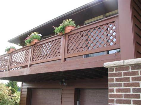 ringhiera in legno per giardino ringhiere in legno scale