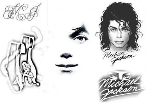 michael jackson tattoos designs if you would a mj which design would you want