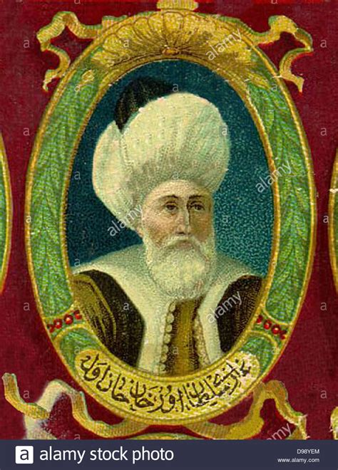 Sultan Of The Ottoman Empire Murad I 1326 1389 Sultan Of The Ottoman Empire From 1361 To Stock Photo Royalty Free Image
