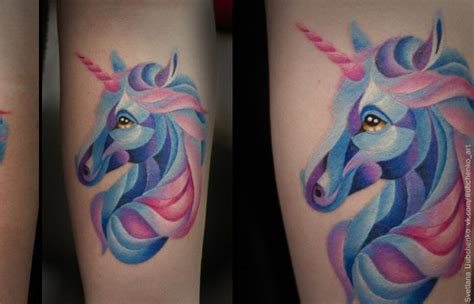 new school unicorn tattoo new school tattoo with unicorn and leg tattoo