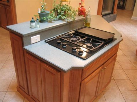 kitchen islands with stove top kitchen island stove top photos