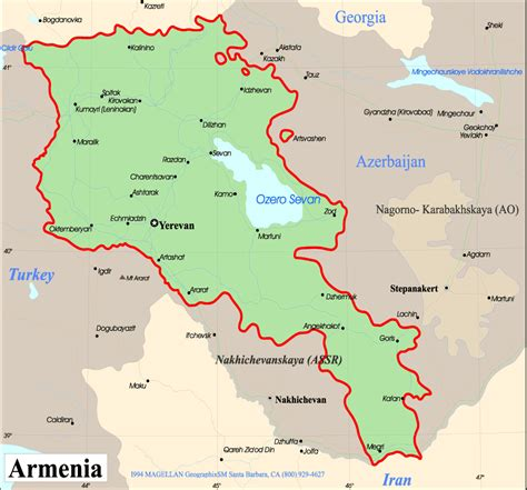 map of armenia armenia map europe