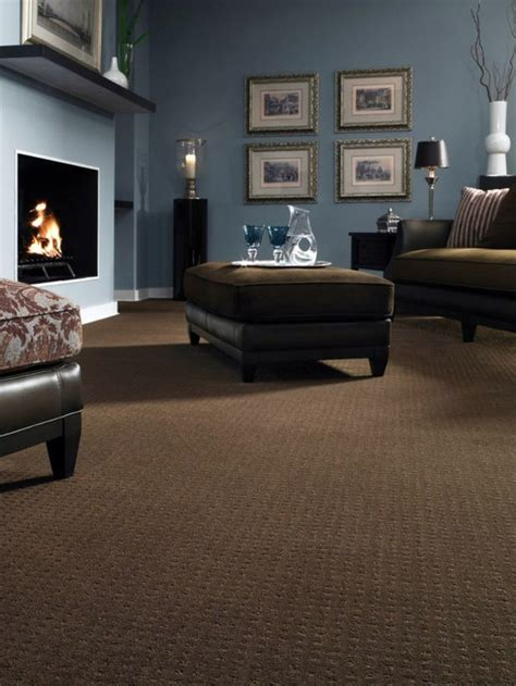 will dark carpet suit for the living room household 12 ideas on how to integrate a carpet in the living room