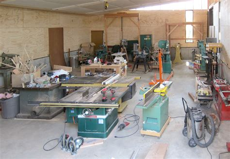 setting up woodworking shop setting up a woodshop plans free