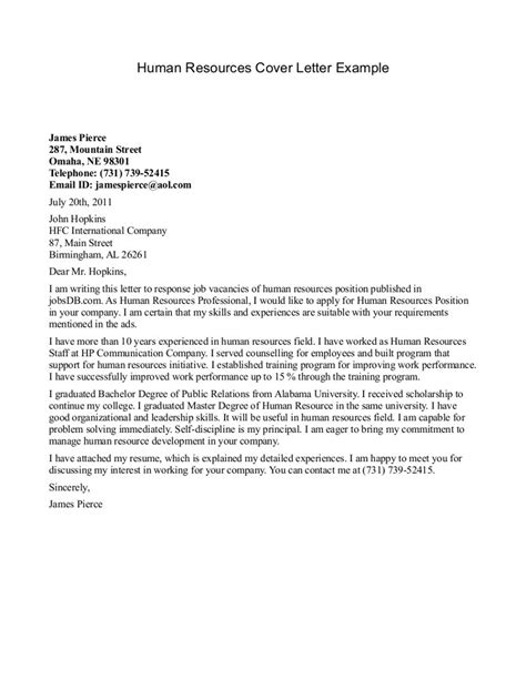 Cpver Letter Cover Letter For Human Services Cover Letter Exle