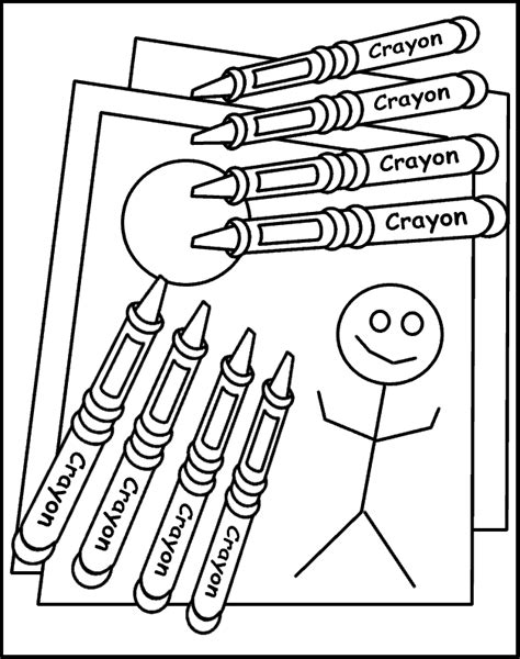 coloring pages with crayons online coloring pages of crayons coloring home