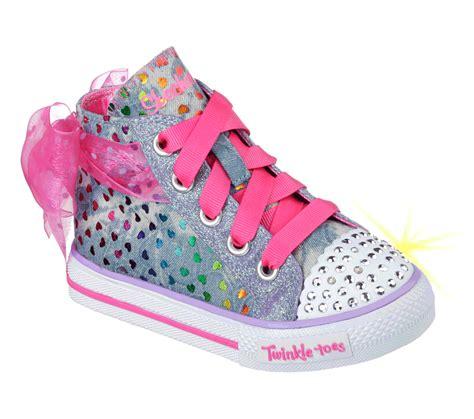 twinkle toes sneakers buy skechers twinkle toes shuffles pixie bunch s lights