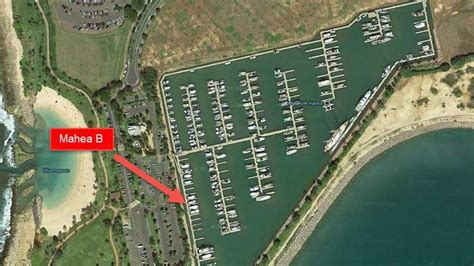 ala wai boat harbor slip map mahea b hawaii deep sea fishing