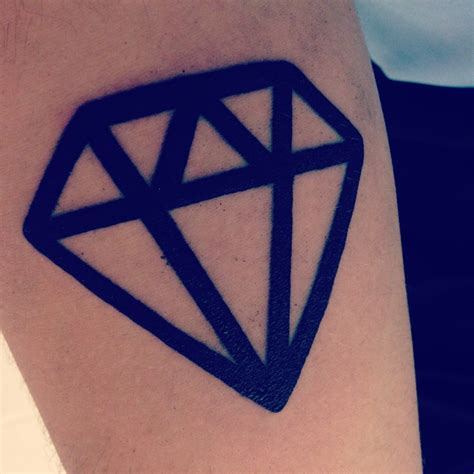 diamond tattoo on arm pinterest discover and save creative ideas