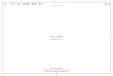Mcconnell Printing 183 6x9 Envelope 6x9 Envelope Template