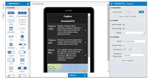 design app builder image gallery mobile app builder