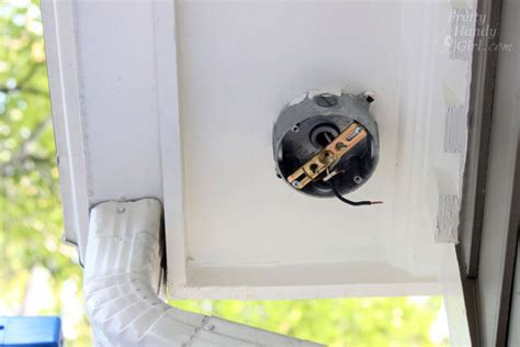 How To Install An Exterior Motion Sensor Light Pretty Install Light Fixture Without Junction Box