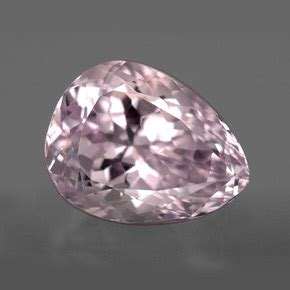 Pink Kunzite Afganistan 6 95ct kunzite 10ct pear from afghanistan and untreated