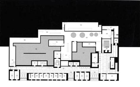 therme vals floor plan thermal bath in vals peter zumthor plans pinterest