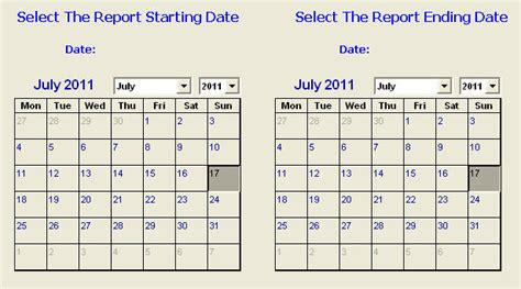 printable calendar select dates excel vba range selection control using refedit controls