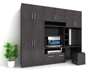 Multiplek Sidoarjo kontraktor interior surabaya sidoarjo lemari tv merangkap almari baju dan meja rias minimalis