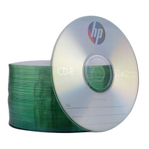 Cd R 52x Hp Slim 10 Pcs hp cd r 52x blank media recordable discs 700mb cr00070b cdr 80 minutes 10 50 100 ebay
