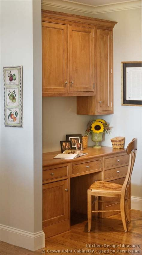 kitchen cabinet desk ideas kitchen desk cabinets