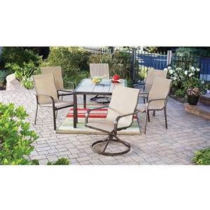 Patio Dining Sets Seats 6 by Mainstays Square Tile 7 Piece Patio Dining Room Set Seats