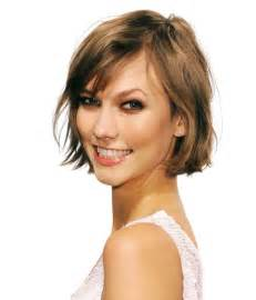haircuts with bangs for hair 50 narrow chin karlie kloss breathe new life into fine hair with a chin