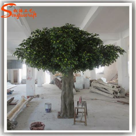 large outdoor artificial trees branches landscaping make