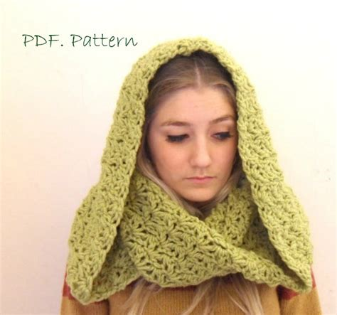crochet pattern hooded infinity scarf for esther kretowski hooded cowl crochet pattern pixie