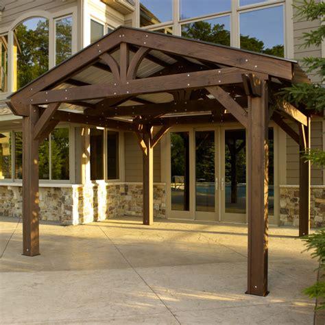 outdoor great room company the lodge pergola by the outdoor greatroom company