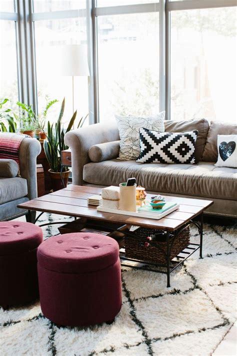 Living Room Makeovers 2015 D 233 Coration Int 233 Rieure Dans La Couleur Tendance 2015 Marsala
