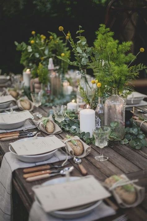 Garden Table Setting Ideas 25 Best Ideas About Rustic Table Settings On Pinterest Country Table Settings Beautiful