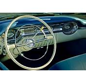 1956 Oldsmobile Starfire 98 Steering Wheel And Dashboard
