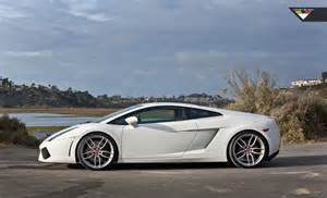 lamborghini gallardo with vorsteiner v ff 105 flow forged