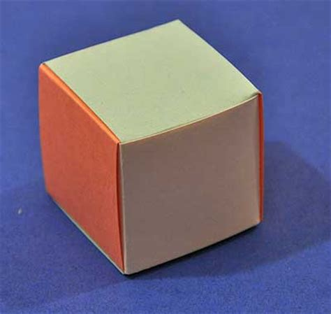 How To Make A Cube Out Of Paper Without Glue - how to weave a cube out of paper