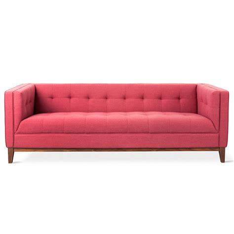 coral sofa gus modern atwood berkeley coral sofa eurway