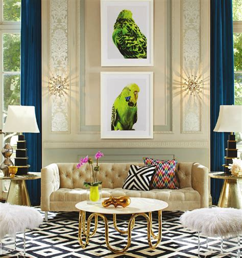home element interior design classic blue gold living room top 10 interior design projects by jonathan adler best