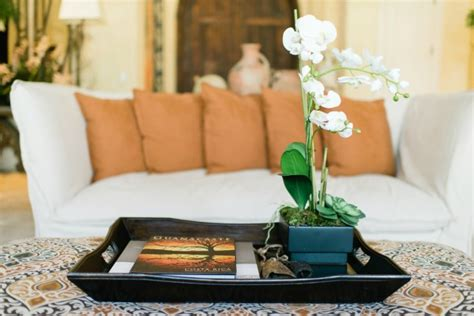 decorating an ottoman with tray decorating with trays ditto diy challenge