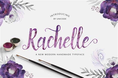 rachelle script script fonts creative market