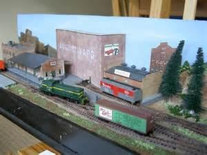 august yard an n scale shelf layout model railroad