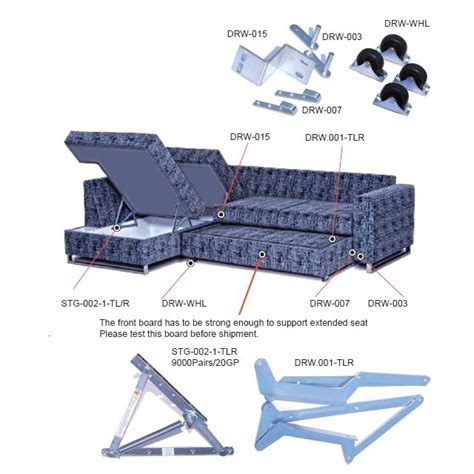 Foldable Bed Chair Draw Out Sofa Bed Mechanism Drw00 Purchasing Souring