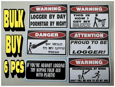 Chainsaw Stickers