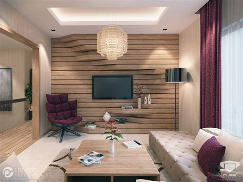 living room feature wall designs extruded feature wall interior design ideas