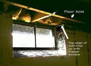 replacement windows basement replacement windows concrete