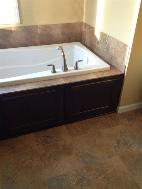 chagne glass bathtub change 12in tile surrounding tub to complementary glass