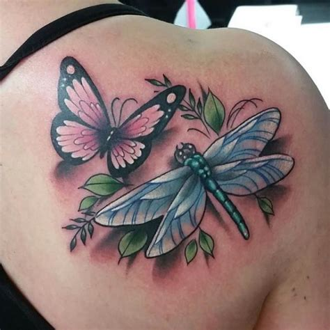 butterfly amp dragonfly rites of passage tattoo