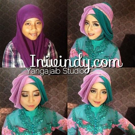 tutorial hijab untuk kebaya 9 best inivindy images on pinterest hijab styles hijab