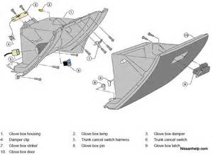 2003 Buick Rendezvous Interior 2005 2006 Nissan Altima Sedan Glove Box Removal Procedure