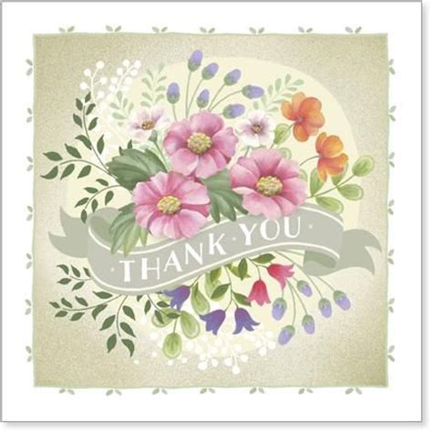 thank you card template flowers thank you cards collection karenza paperie
