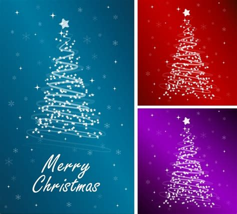 starlight christmas tree vector free vector in adobe