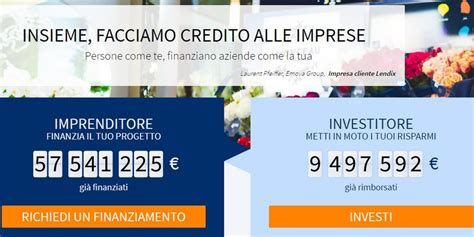 peer to peer lending and equity crowdfunding a guide to the new capital markets for creators investors and entrepreneurs books il leader francese peer to peer lending per le pmi