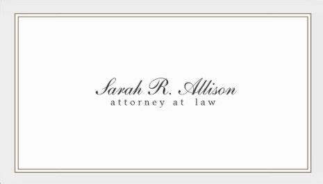 biz card size borders template simple and attorney white with border template